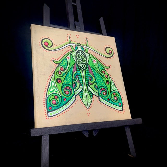 Load image into Gallery viewer, Green Moth