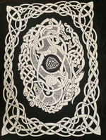 Sacred Knot Tea Towel