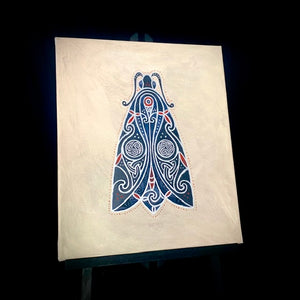 Load image into Gallery viewer, Black Moth