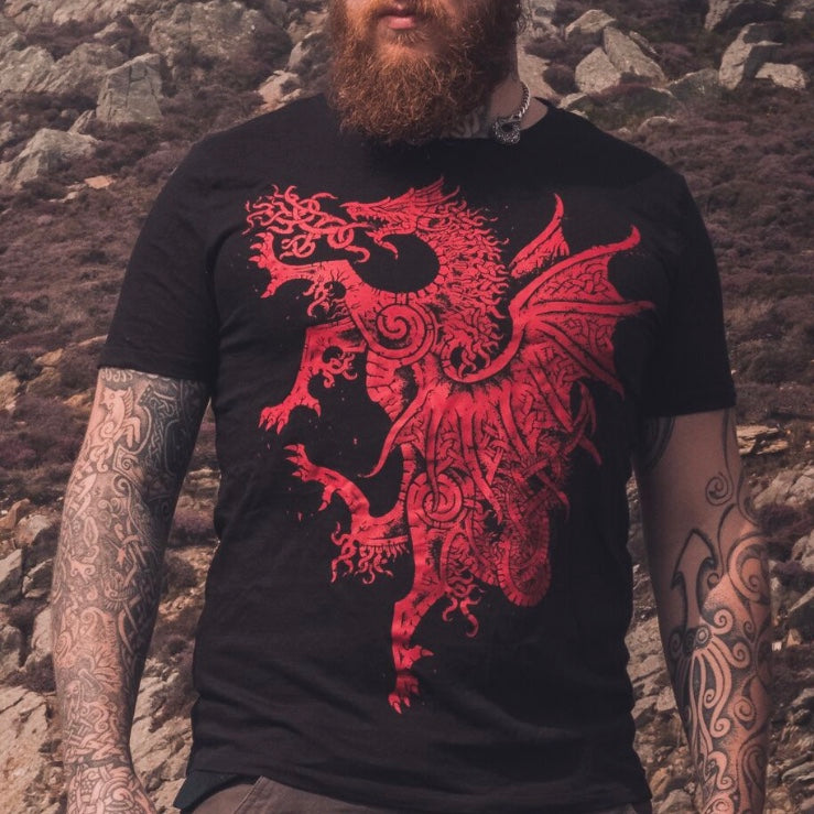 Y Ddraig Goch / Welsh Red Dragon T-Shirt