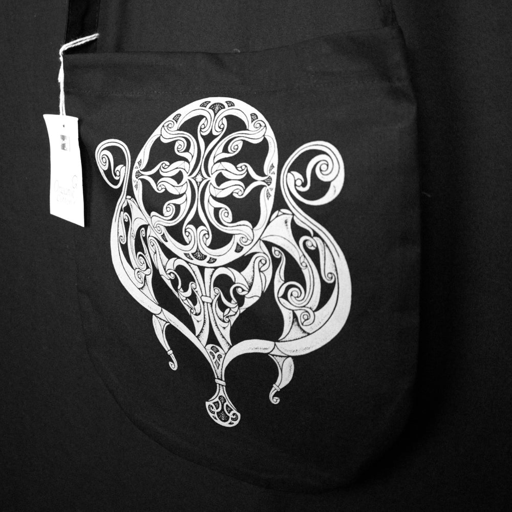 Northern Fire Celtic Canvas Bag