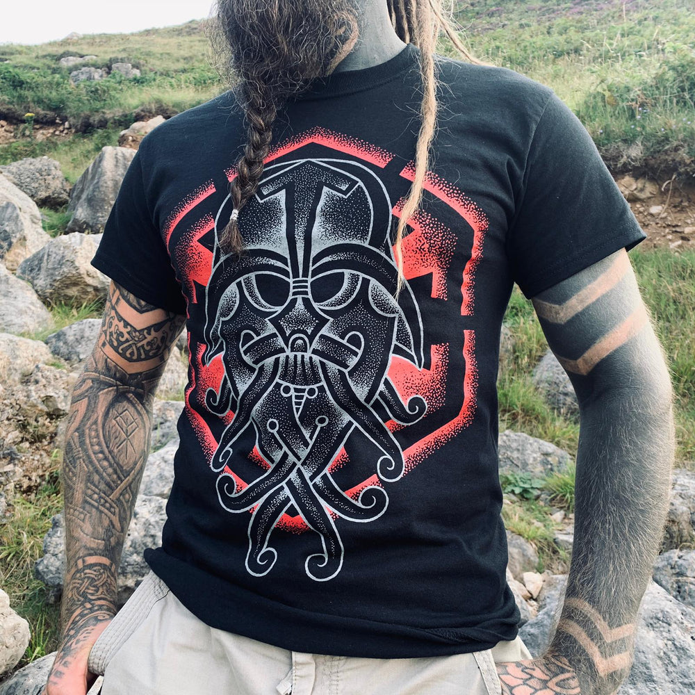 Viking darth Vader by colin dale of skin and bone.""