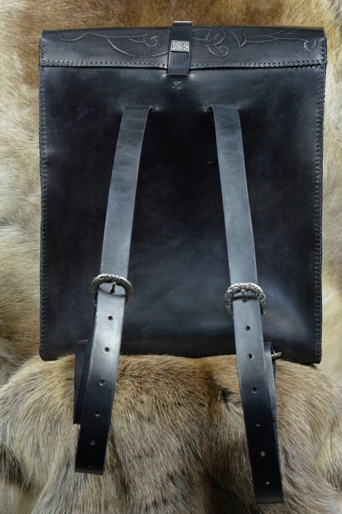 Nordic Leather Rucksack