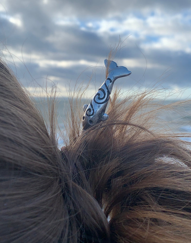 Load image into Gallery viewer, Narwhal Hair Pin