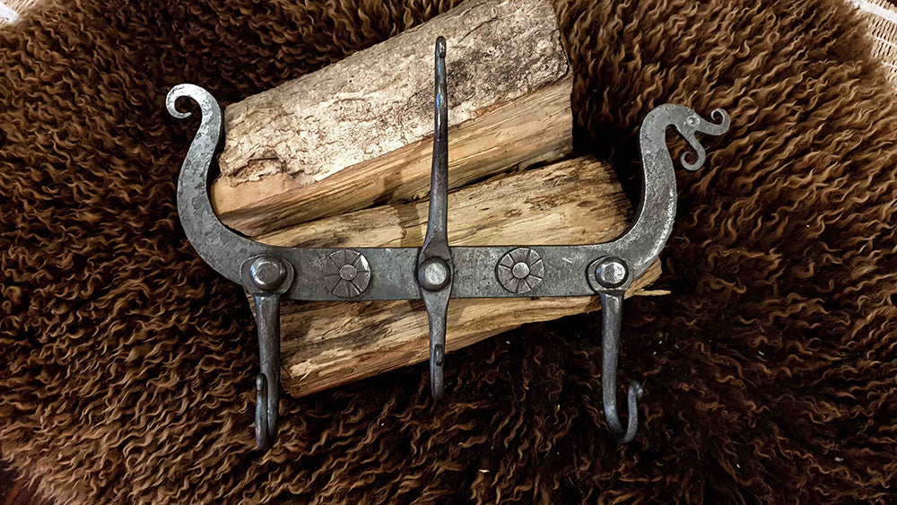 Hand Forged Nordic Coat Rack