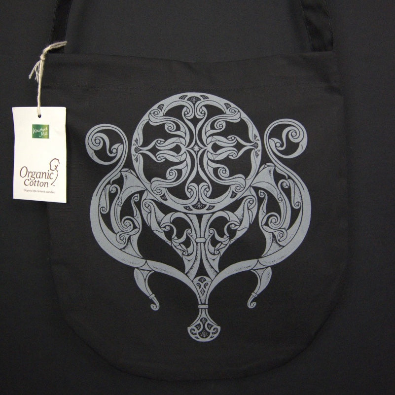 celtic design on organic cotton bag