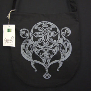 Load image into Gallery viewer, celtic design on organic cotton bag
