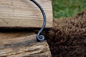 Load image into Gallery viewer, Hand forged torc by oak tree forge