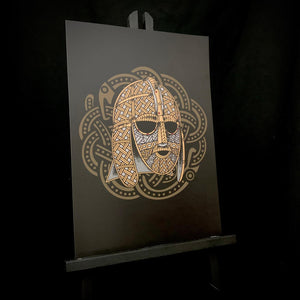 Celtic Viking artwork by the Saxon storyteller