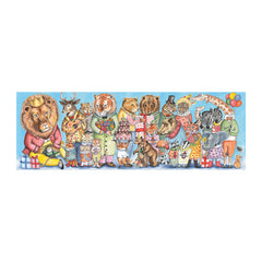 "Panorama Puzzle ""King's Party"" 100 Teile -5+"