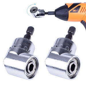 2 pcs Right Angle Drill Adapter