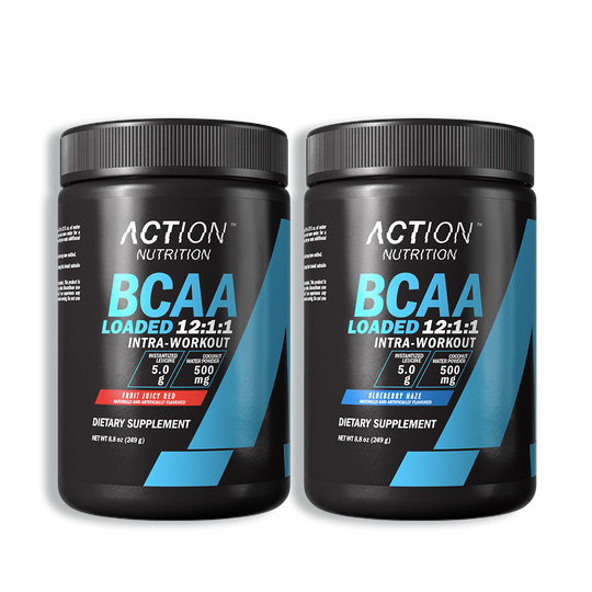 Total Recovery Stack Featuring BCAA Loaded's Coveted 12:1:1 Ratio