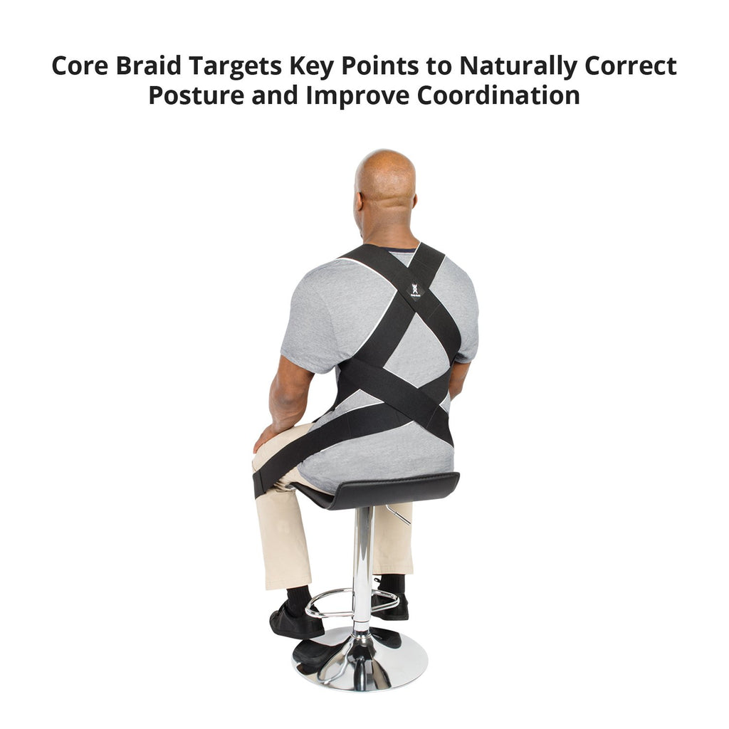 Latex-Free Core Body Braid - Uplifting Alignment and Supportive Comfort