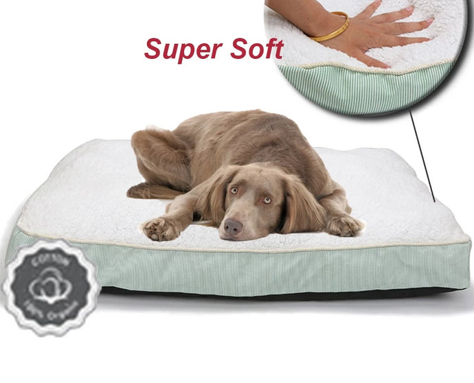 BlingDog Super Soft Fleece Dog Bed - nekorandomproducts
