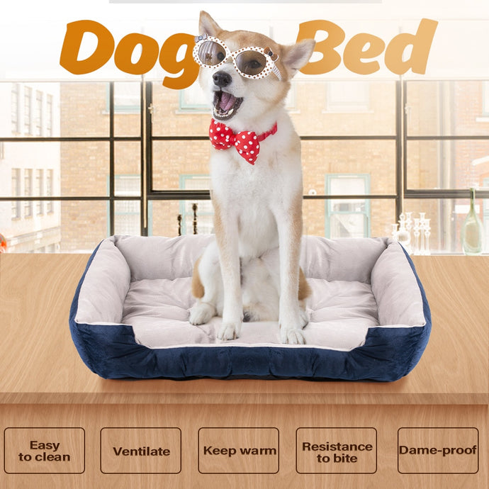 BlingDog Luxurious Memory Foam Dog Bed #1 - nekorandomproducts