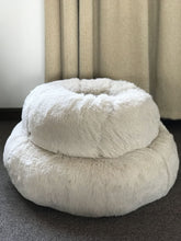Load image into Gallery viewer, BlingDog Fluffy Round Dog Bed