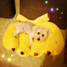 Load image into Gallery viewer, Bling Dog Banana Dog Bed