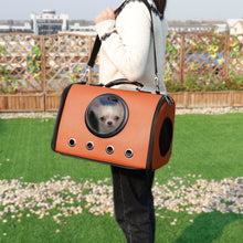 Load image into Gallery viewer, Bling Cat Carrier Capsule Hand Bag