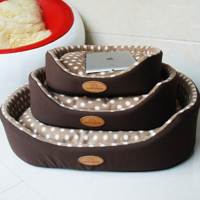 BlingDog Polka Dot Dog Bed 1