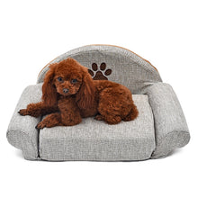 Load image into Gallery viewer, BlingDog Pup Sofa/Beds Paw Print