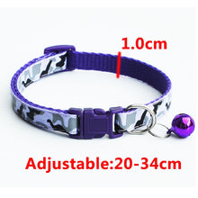 Load image into Gallery viewer, BingDog Adjustable Camo Bell Dog Collar - nekorandomproducts