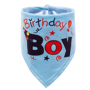 BlingDog Birthday Dog Bandana