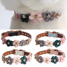 Load image into Gallery viewer, BlingDog Doggy Flower Dog Collar - nekorandomproducts