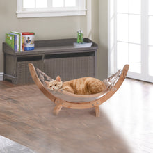 Load image into Gallery viewer, BlingDog Cat Lovers Wooden Hammock