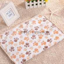 Load image into Gallery viewer, BlingDog Paw Print Puppy Blanket 1