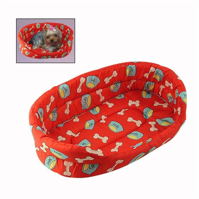 BlingDog Multi Patterns Dog Bed #1 - nekorandomproducts