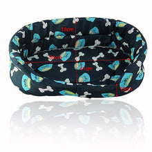 Load image into Gallery viewer, BlingDog Multi Patterns Dog Bed #1 - nekorandomproducts