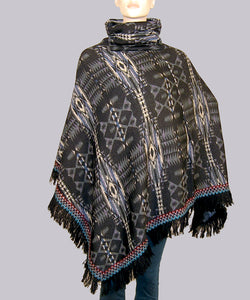 Fringe Tribal Pullover with Fleece Lining