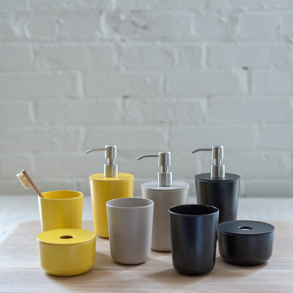 soap dispenser - ekobo - bano collection - bano soap dispenser