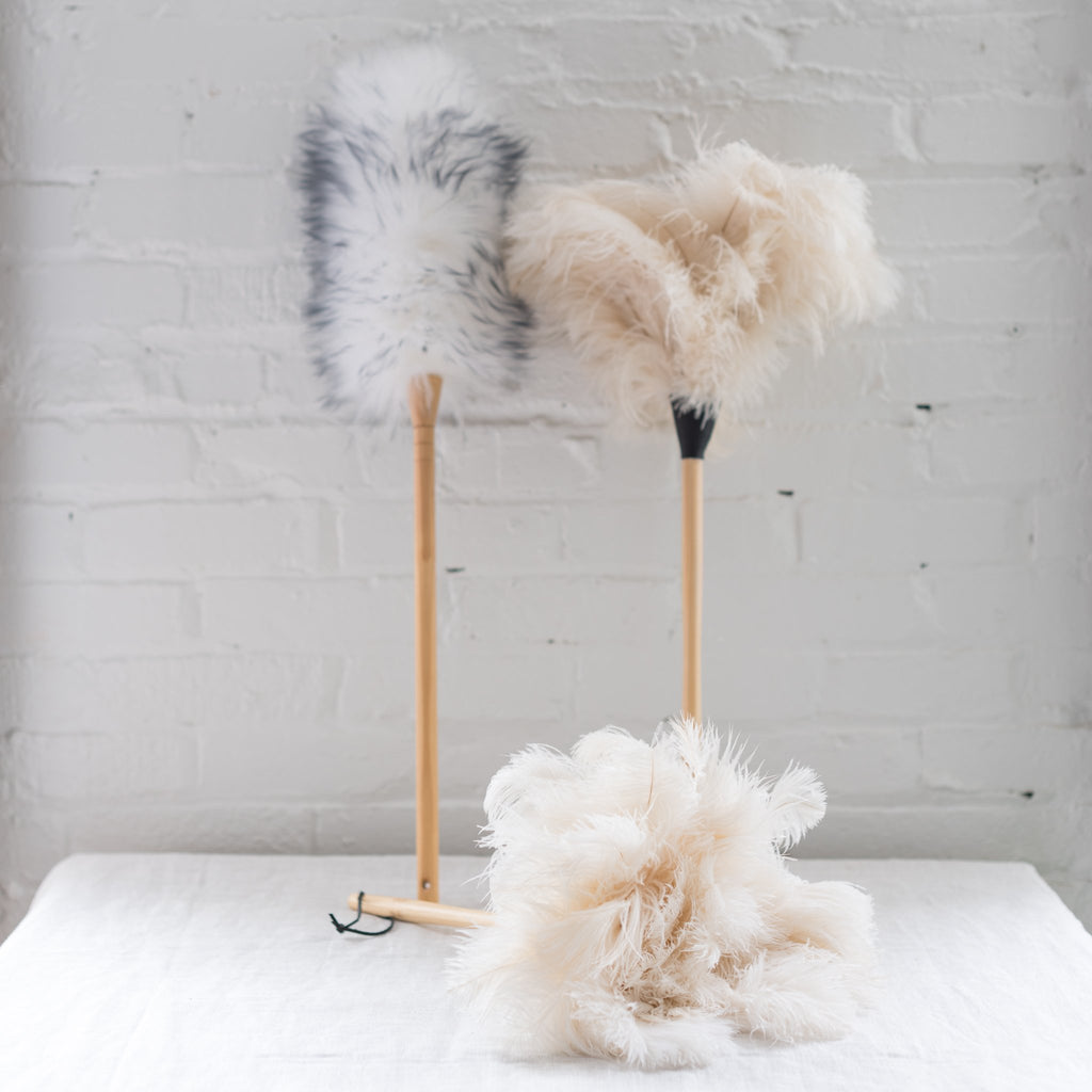 redecker - feather duster - duster - ostrich feather duster - german made