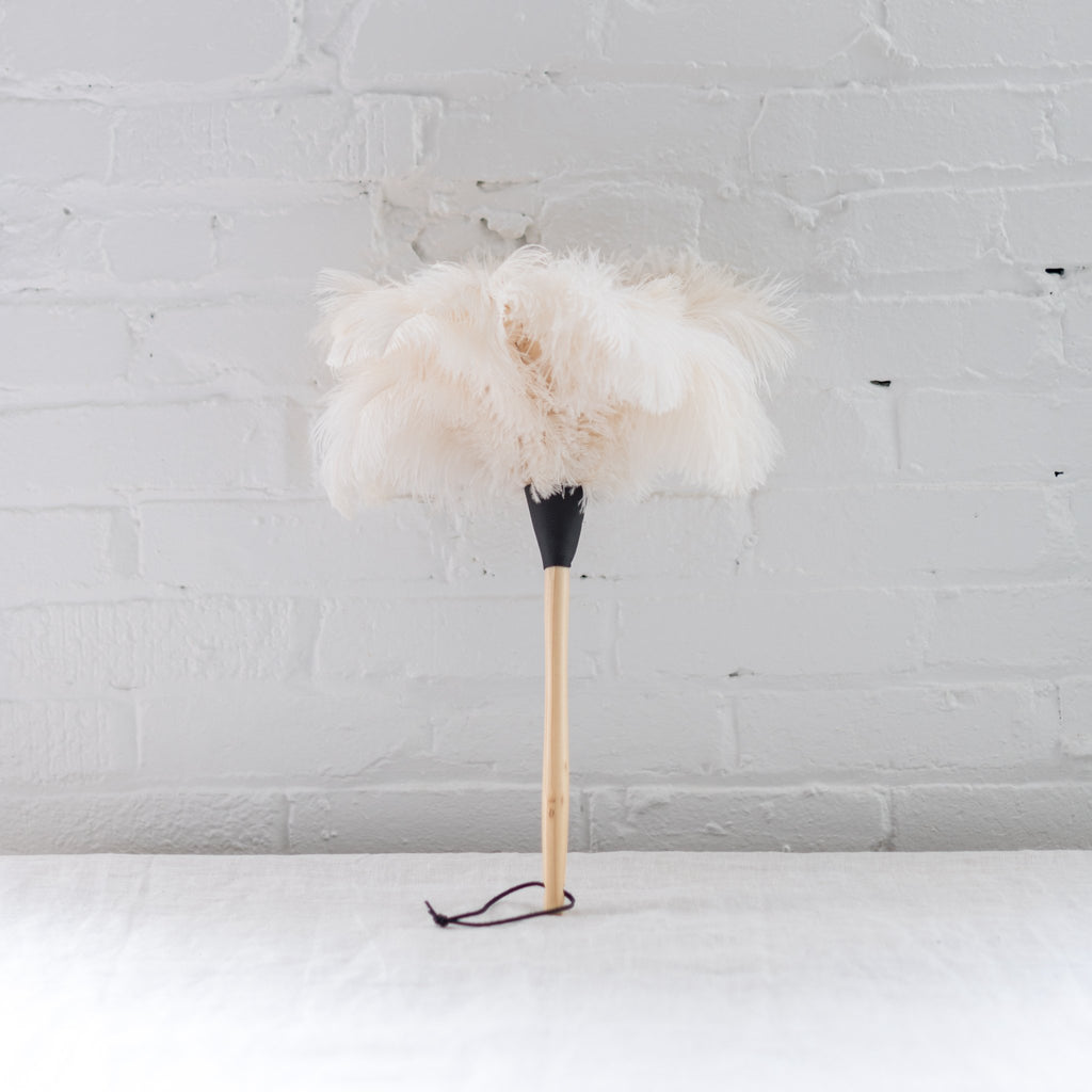 feather duster - ostrich feather duster - redecker - burstenhaus redeker