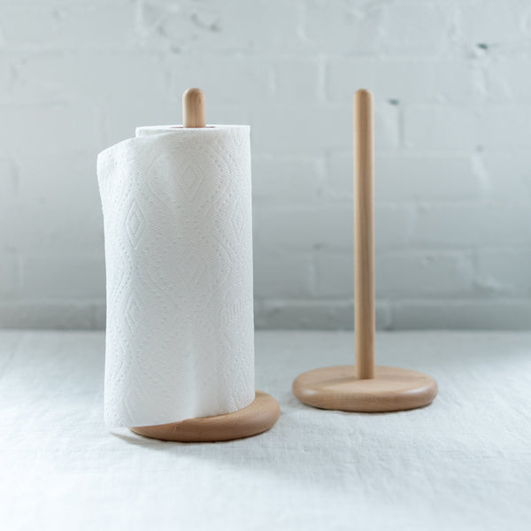 Simple maple wood paper towel holder - hawkins new york