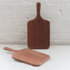 bread board - cutting board - handmade cutting board -mahogony board