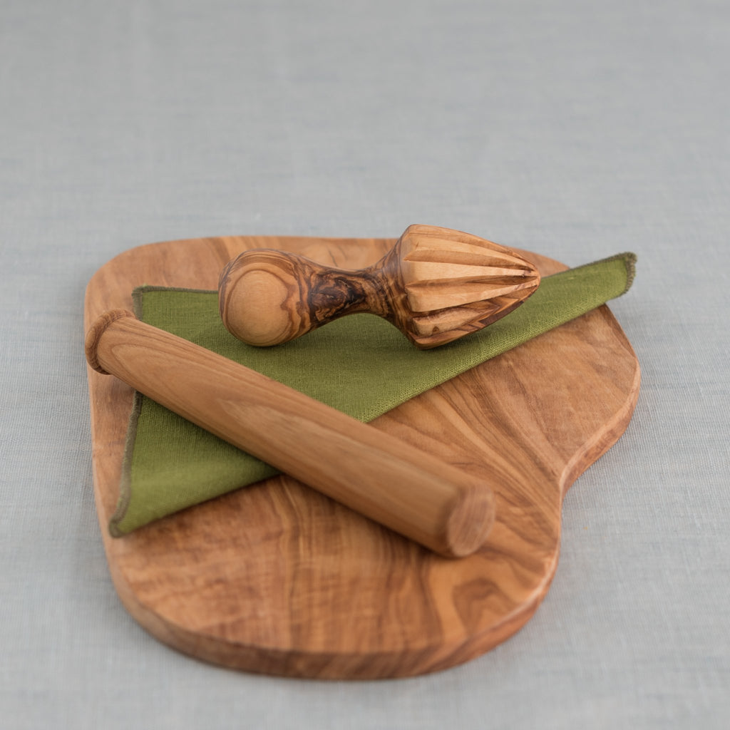 olivewood - citrus press - citrus reamer - olivewood citrus reamer - olivewood citrus press