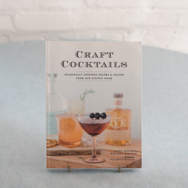 craft cocktail book - home bar guide - craft cocktail guide- Craft cocktail recipe pairings- cocktails and bar snack book - Geoff Dillon