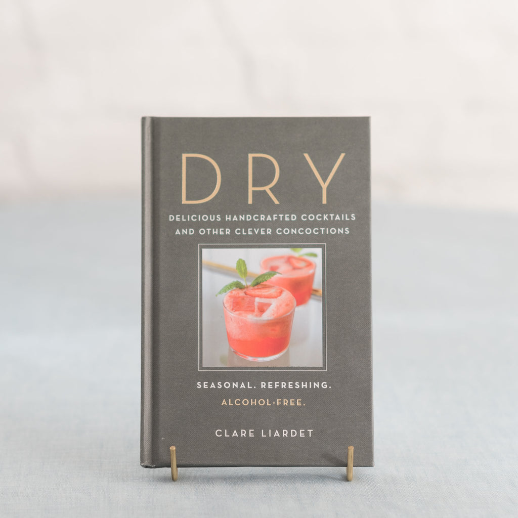 DRY cocktail recipes - alcohol-free cocktail recipes - non-alcoholic cocktail recipes - booze-free cocktail recipes - Clare Liardet
