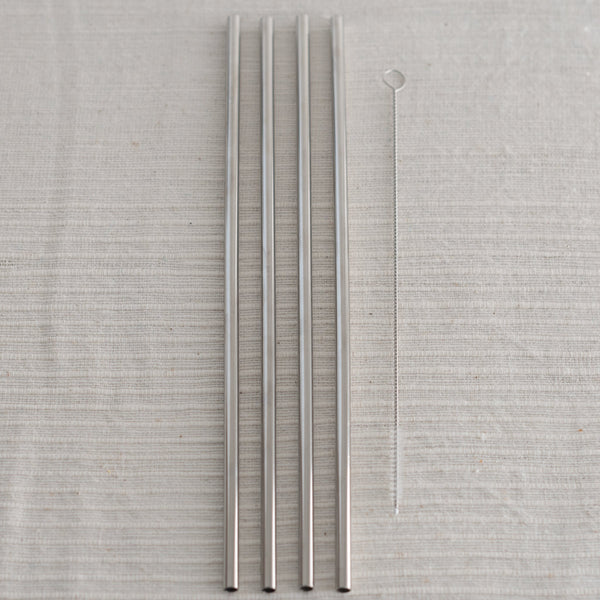 STAINLESS steel metal straw - porter - w&p - reusable straw
