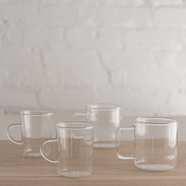 glass tea mug - glass mug - hay glass mug - tea glass mug