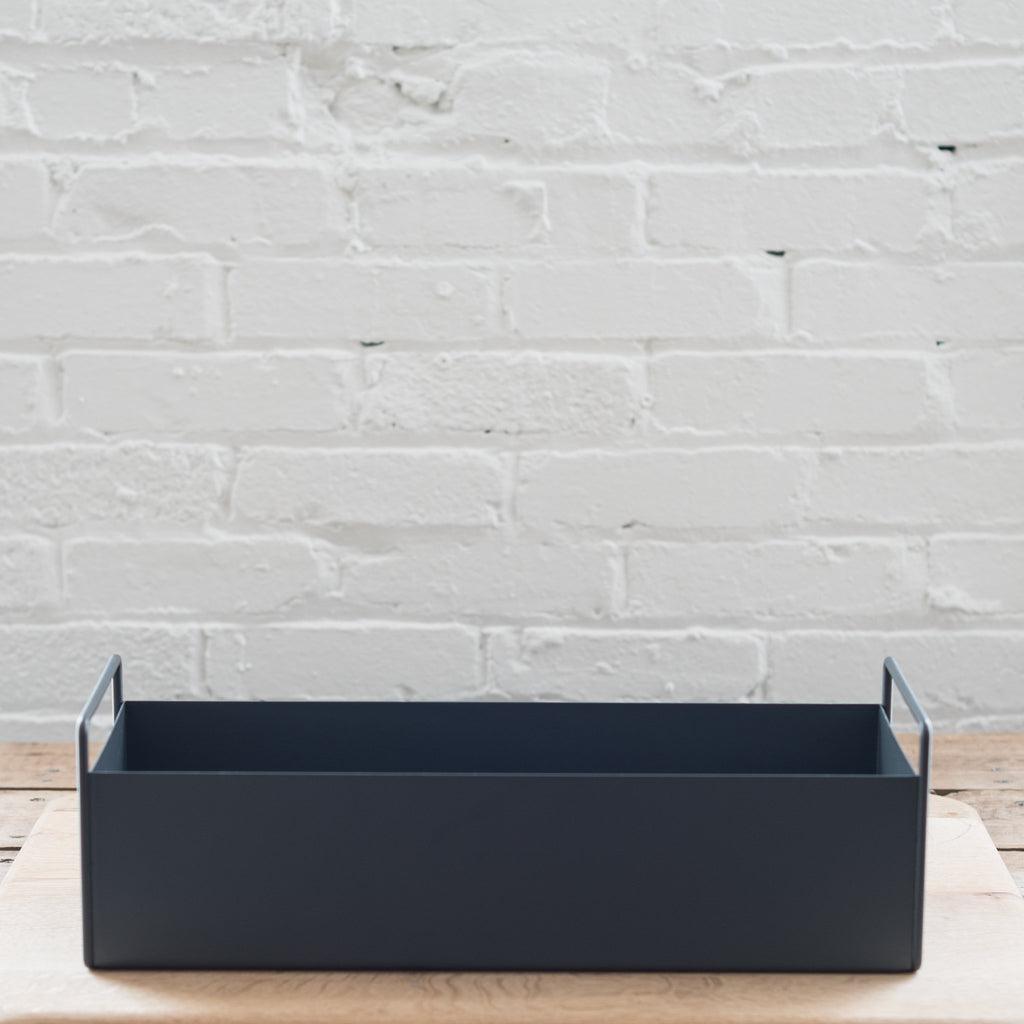 planter box - ferm - stainless steel plant box - ferm living
