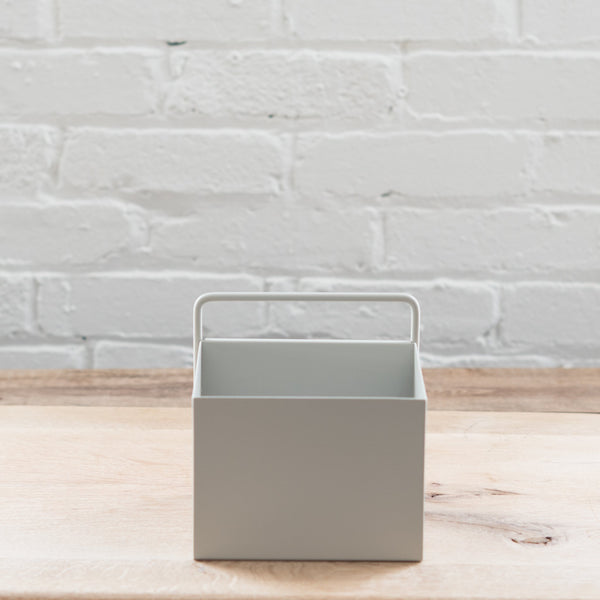 stainless steel powder coated plant box - planter box - plant box - ferm living