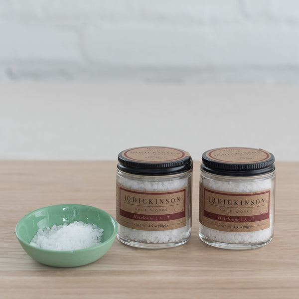 heirloom salt  -  j.q. dickinson salt - 3.5 oz. salt