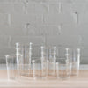 kinto glass - cast glass - iced tea - green tea - water glass