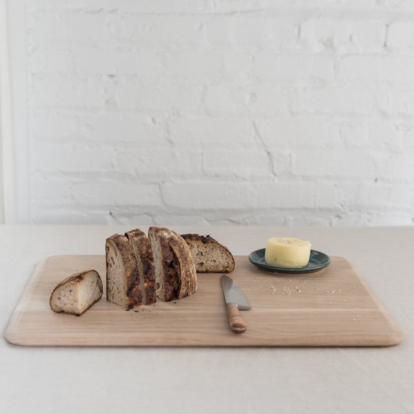White oak cutting board - wood cutting boar - oak board - Scandinavian design - bread board