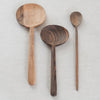oval walnut spoon - hawkins new york - walnut spoon - serving spoon