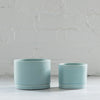 siren blue ceramic planter - ceramic planter - tandem ceramics - ceramic planter