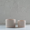 pink- ceramic planter - tandem ceramics - ceramic planter